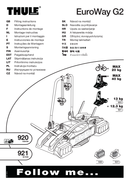 Thule EuroWay G2 921 page 1