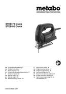 Metabo STEB 80 Quick sayfa 1