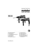 Metabo KHE 2444 Seite 1