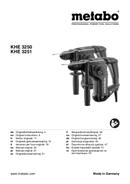 página del Metabo KHE 3251 1