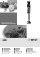 Bosch MaxoMixx MSM88110 Seite 1