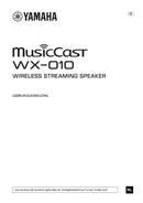 Yamaha MusicCast WX-010 sivu 1
