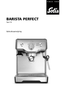Solis Barista Perfect 118 pagina 1