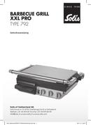 Solis BBQ Grill XXL Pro 792 pagina 1
