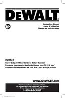 DeWalt DCH133 page 1
