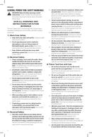 DeWalt DCH133 page 4