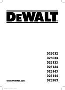 DeWalt D25033 pagina 1