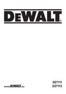 DeWalt D27112 page 1