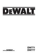 DeWalt DWS777 page 1