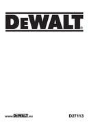 DeWalt D27113 page 1