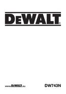 DeWalt DW743 page 1