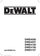 DeWalt DWE4057 page 1