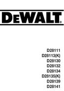 DeWalt D28135 page 1