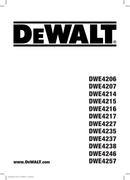 DeWalt DWE4207 page 1