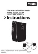 Thule Pack 'n Pedal Shield Pannier side 1