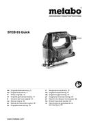 Metabo STEB 65 Quick Seite 1