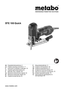 Metabo STE 100 Quick Seite 1