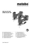 Metabo STA 18 LTX 100 Seite 1