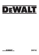 DeWalt DW745 page 1