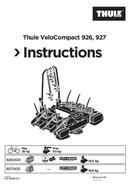 Pagina 1 del Thule VeloCompact 926 (2018)