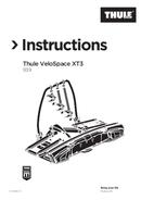 Página 1 do Thule VeloSpace XT 939 (2018)