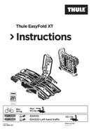 Pagina 1 del Thule EasyFold XT 934