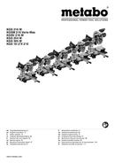 Metabo KGS 305 M Seite 1