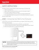 Sandisk SSD Ultra 3D side 2