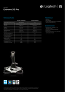 Logitech Extreme 3D Pro sivu 2