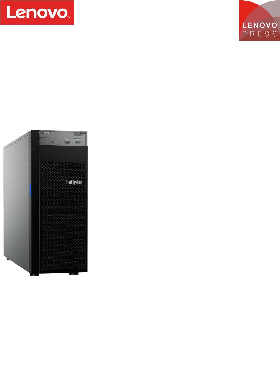 Lenovo ThinkSystem ST250 2.5 SATA//SAS 8-Bay Backplane Kit