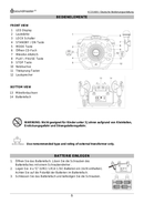Soundmaster KCD1600 page 3