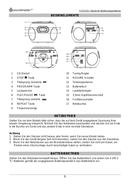 Soundmaster SCD2120GR sayfa 3