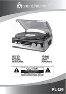 Soundmaster PL 186 page 1