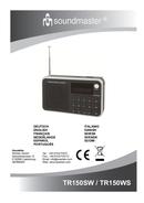 página del Soundmaster TR150SW 1