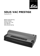 página del Solis Vac Prestige 575 1