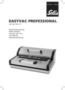 Solis EasyVac Professional 572 pagina 1