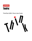 Lenovo ThinkPad USB C Doc sivu 1