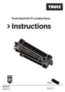 Pagina 1 del Thule EasyFold XT Loading Ramp
