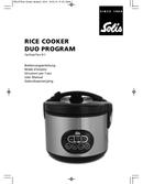 página del Solis Rice Cooker Duo Program 817 1