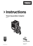 Página 1 do Thule SquareBar Adapter