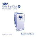LaCie Little Big Disk Thunderbolt pagina 1