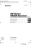 Sony STR-DB795 page 1