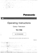 Panasonic TC-1785 side 1