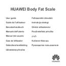 Huawei Body Fat Scale AH100 sivu 1