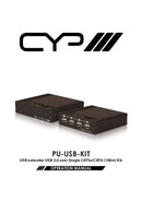 CYP PU-USB-KIT pagina 1