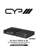 CYP PU-DVI1109RX pagina 1