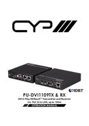 CYP PU-DVI1109TX pagina 1
