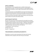 CYP PU-DVI1109TX pagina 3