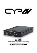 CYP SY-300H pagina 1