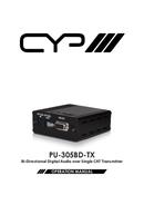 CYP PU-305BD-TX pagina 1